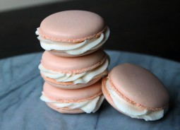 Copper Spoon Cakery Peach Bellini Macarons