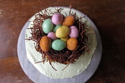 Copper Spoon Cakery Easter Egg Nest Cake