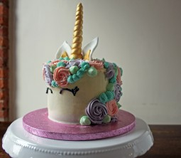 Copper Spoon Cakery Unicorn Cake Side Image