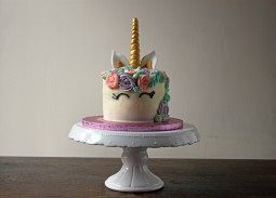 Copper Spoon Cakery Rainbow Unicorn Cake