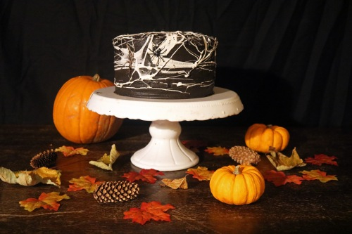 Halloween cake- copper spoon cakery