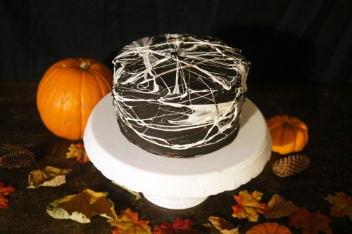 Halloween cake close up- copper spoon cakery