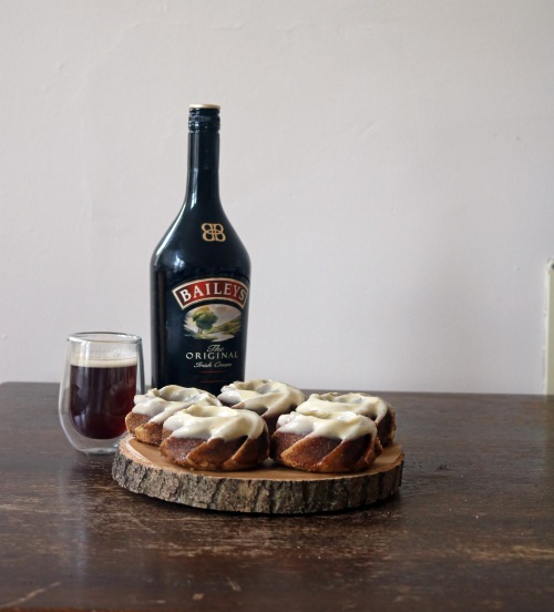 Baileys and cappuccino bundt cakes best- copper spoon cakery